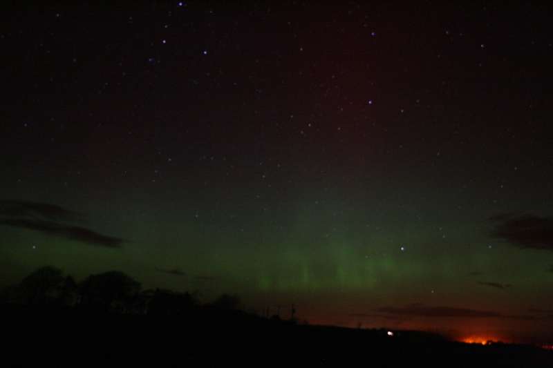 The Aurora from near Sorbie