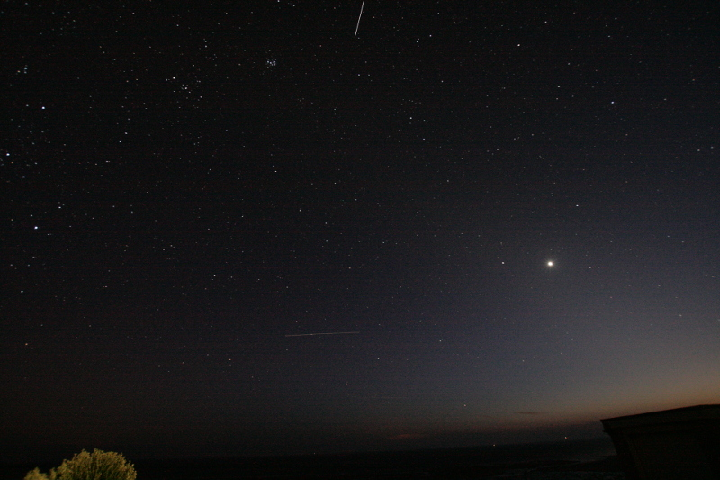 International Space Station from Monreith