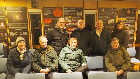 The GFAS members at the SDS Observatory