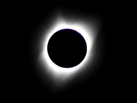 Exposure change to show the Corona